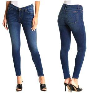 Hudson Krista Super Skinny Crop Blue Jeans 28